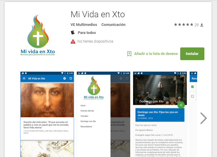 Apps para Android desarrolladas por VE Multimedios